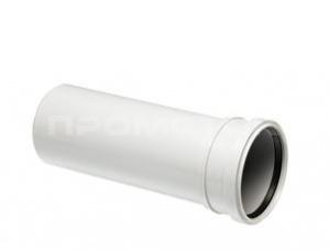 UPONOR DECIBEL Труба канализационная раструбная 110мм 3м ПП БЕЛАЯ